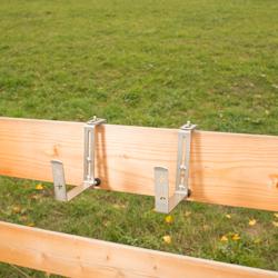 Haltebügel Balkonkastenhalter ohne Strebe für Greenbar Kräuterbox