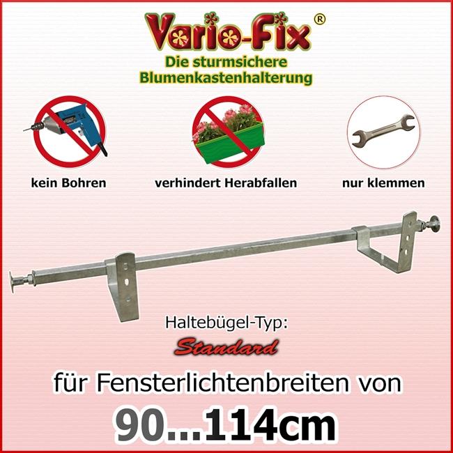 vario fix standard 1 paar hb 15cm flb 90 114cm vario fix. Black Bedroom Furniture Sets. Home Design Ideas