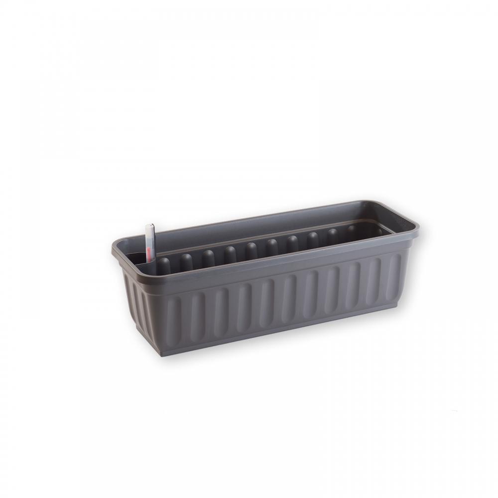blumenkasten aqua perfect 60cm anthrazit vario fix. Black Bedroom Furniture Sets. Home Design Ideas