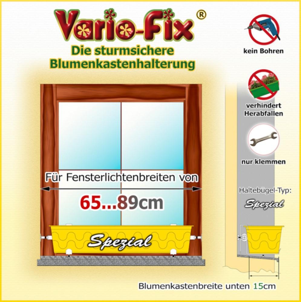 vario fix spezial 1 paar hb 15cm flb 65 89cm vario fix. Black Bedroom Furniture Sets. Home Design Ideas
